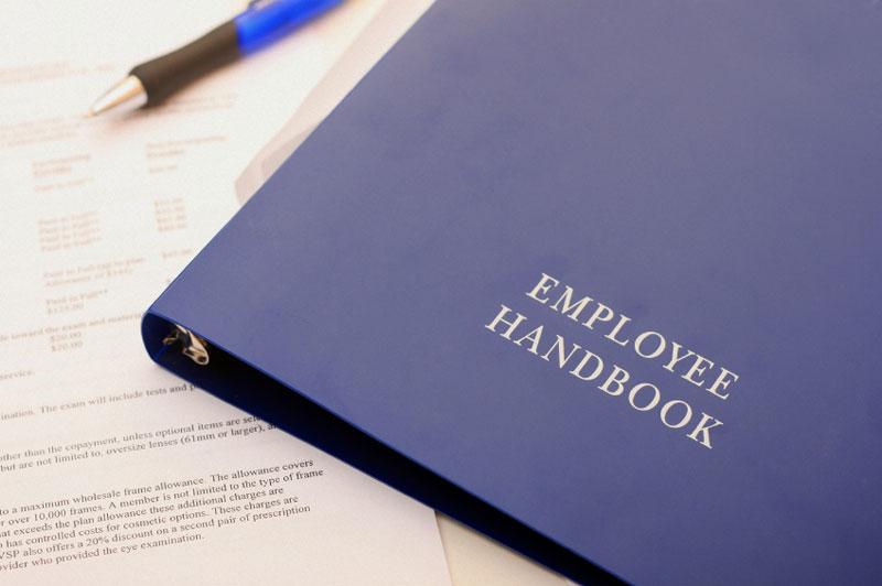 Employee Handbook Clipart
