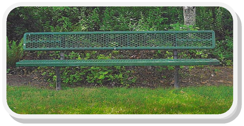 Picture of a park bench